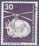 Sellos de Europa - Alemania -  ALEMANIA Transporte helicóotero Rettungs-Hubschrauber 30 (3)