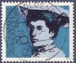Sellos de Europa - Alemania -  ALEMANIA Gertrud Von Le Fort 70 (4)