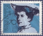 Stamps Germany -  ALEMANIA Gertrud Von Le Fort 70 (3)