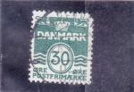 Sellos de Europa - Dinamarca -  C I F R A