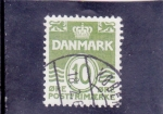 Stamps Denmark -  C I F R A