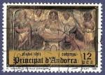 Stamps Andorra -  ANDORRA Nadal 1981 12 (2)