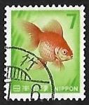 Stamps Japan -  Goldfish