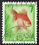 Sellos de Asia - Japón -  Goldfish