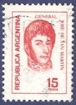 Stamps Argentina -  ARG San Martín 15 (2)