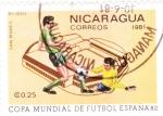 Sellos de America - Nicaragua -  COPA MUNDIAL DE FUTBOL ESPAÑA ,82