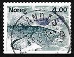 Sellos del Mundo : Europa : Noruega : Salmon