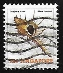 Sellos de Asia - Singapur -  Caracol