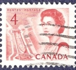 Stamps Canada -  CANADÁ Reina Isabel II 4 (1)