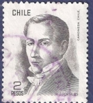 Stamps Chile -  CHILE Básica Diego Portales 2 (1)