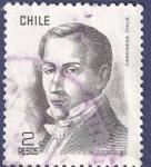Sellos de America - Chile -  CHILE Básica Diego Portales 2 (1)