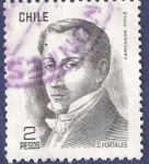 Stamps Chile -  CHILE Básica Diego Portales 2 (2)