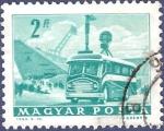 Stamps Hungary -  HUNGRÍA Unidad móvil 2 verde