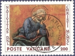 Sellos de Europa - Vaticano -  VAT Navidad 1990 200 (2)