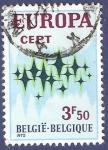 Stamps Belgium -  BÉLGICA Europa CEPT 1972 3,50 (2)