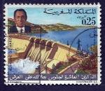 Sellos de Africa - Marruecos -  10 Aniversario Intronisacion