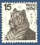Sellos del Mundo : Asia : India : INDIA Tigre 15