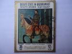 Sellos del Mundo : Asia : Emiratos_Árabes_Unidos : Francis I on Horseback. Oleo del Pintor:Clouet en 1540.