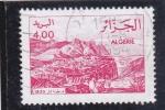Sellos de Africa - Argelia -  PANORÁMICA CIUDAD FORTIFICADA