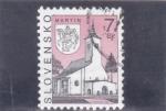 Stamps : Europe : Slovakia :  IGLESIA DE SAN MARTÍN