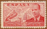 Stamps : Europe : Spain :  AUTOGIRO SOBRE MADRID-JUAN DE LA CIERVA