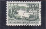 Sellos del Mundo : Europa : Finlandia :  PAISAJE FINLANDES