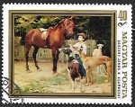Stamps Hungary -  Caballos