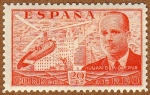 Stamps Spain -  AUTOGIRO SOBRE MADRID-JUAN DE LA CIERVA