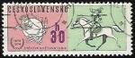 Sellos del Mundo : Europa : Checoslovaquia : Emblema de la Union Postal Universal