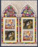 Sellos de Europa - España -  Navidad 2001  HB  conjunto con Alemania