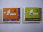 Sellos del Mundo : Europa : Checoslovaquia : Decja Nedelja - Arte de hacer figuras de papel