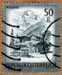 Stamps Austria -  CABAÑAS DE MADERA –IM ZILLERTAL- ESTADO DE TIROL