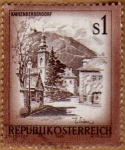 Sellos de Europa - Austria -  CERCANIAS DE VIENA – KAHLENBERGERDORF-ESTADO DE VIENA