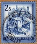 Stamps Austria -  PUENTE SOBRE RIO – KAHLENBERGERDORF-ESTADO DE TIROL