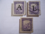 Stamps : America : Colombia :  Bogotá Colonial.