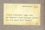 Sellos del Mundo : Europa : Alemania :  Oscar Schindler