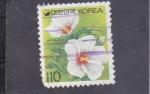 Sellos del Mundo : Asia : Corea_del_sur : F L O R E S-