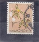 Sellos de Africa - República del Congo -  F L O R E S- ANSELIA