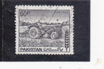 Stamps Pakistan -  T R A C T O R