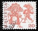 sellos de Europa - Suiza -  Suiza-cambio