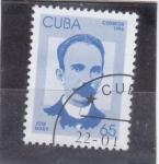 Stamps : America : Cuba :  JOSE MARTI