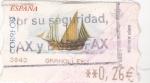 Sellos del Mundo : Europa : España : ATM- VELERO (29)