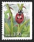 Sellos de Europa - Noruega -  Insecto