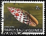 Stamps Papua New Guinea -  Mitra mitra