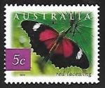 Stamps Australia -  Mariposa
