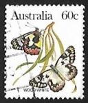 Sellos de Asia - Armenia -  Mariposa