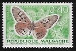 Stamps Madagascar -  Mariposa