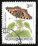 Stamps Norway -  Mariposa