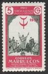 Sellos de Africa - Marruecos -  marruecos protectorado español - 361 - Pro tuberculosos