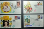 Stamps : Oceania : Tuvalu :  1986 60th Birthday of HER MAJESTY QUEEN ELIZABETH ||